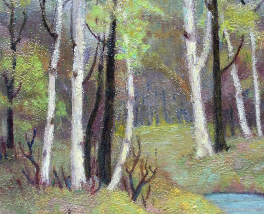 Birches in Spring (Close up)